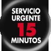 Servicio Urgente 15 minutos