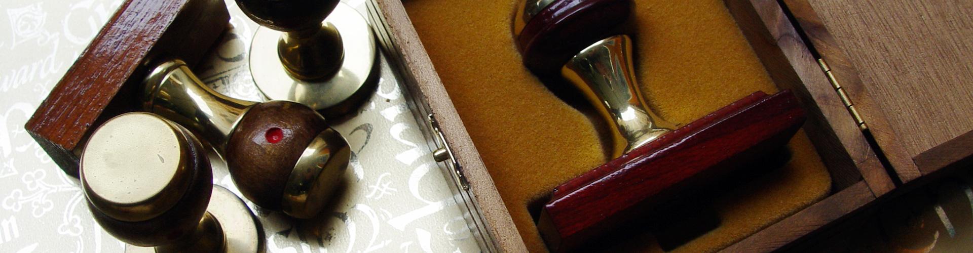 Antoñana, sellos, rótulos y grabados